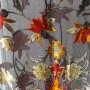Small silk velvet scarf 1